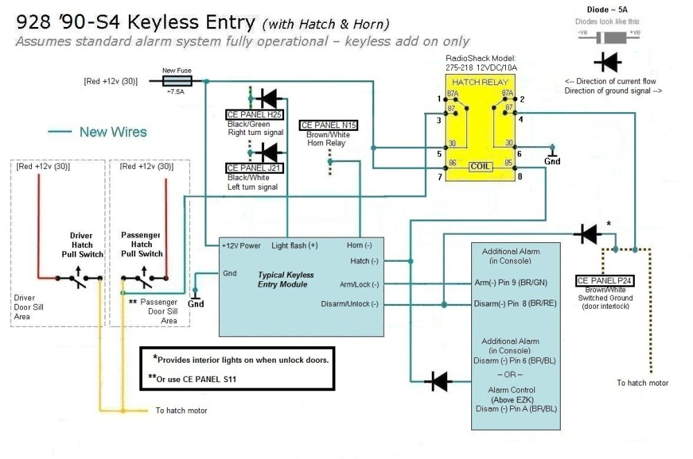 medium resolution of avital 2101l keyless entry wiring diagram a few keyless entry and remote start questions