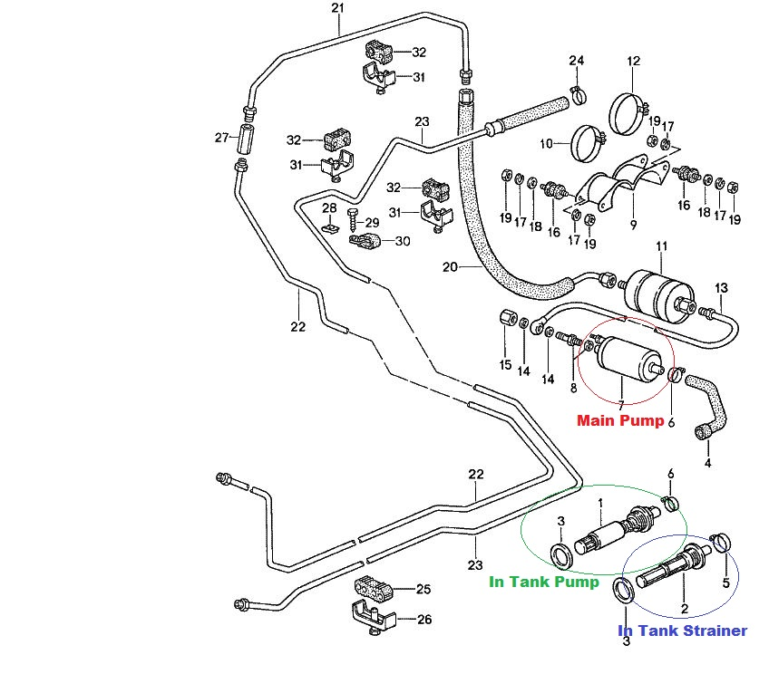Porsche Cayenne S Fuel Pump Diagram. Porsche. Auto Parts