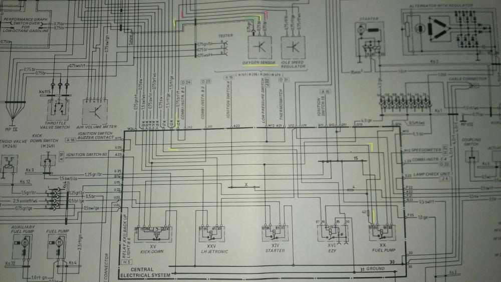medium resolution of brittle o2 male connector w green wire under ce panel rennlist 1978 ford mustang wiring diagrams 1978 porsche 928 wiring diagram
