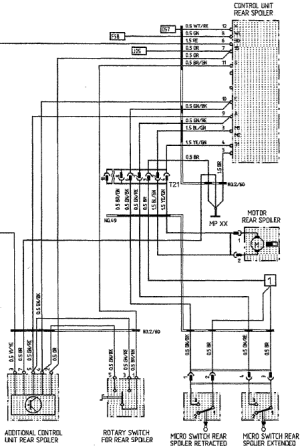 Wiring Diagram for Rear Spoiler  Rennlist Discussion Forums