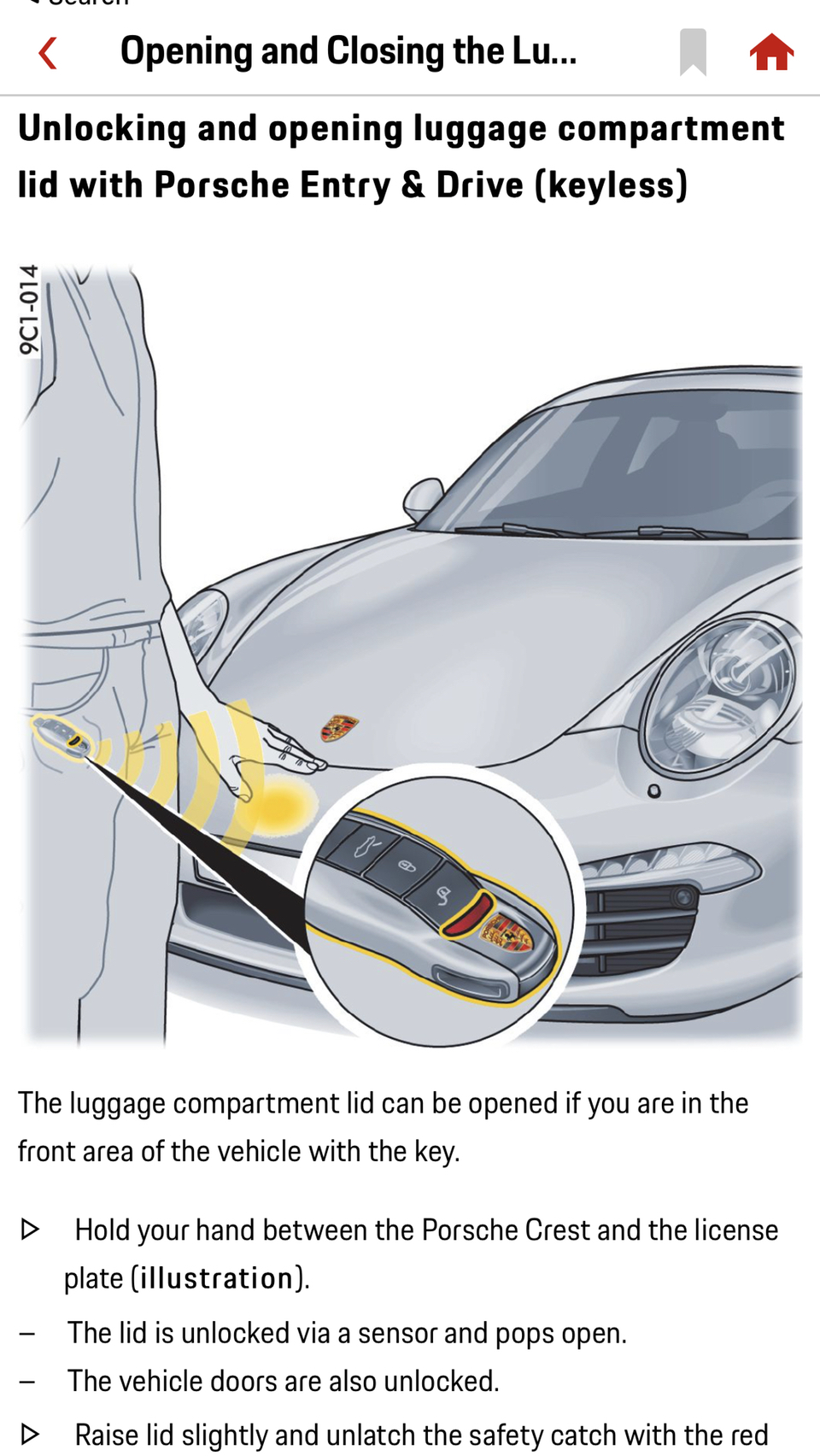 How To Open Car Trunk Without Key : trunk, without, Entry, Drive, Opening, Trunk, Rennlist, Porsche, Discussion, Forums