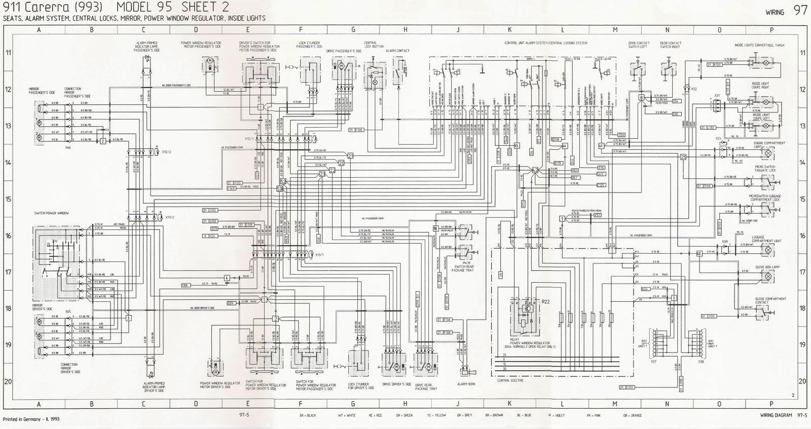 hight resolution of porsche 993 wiring diagram wiring diagram database mitsubishi eclipse engine diagram porsche 993 engine wiring diagram