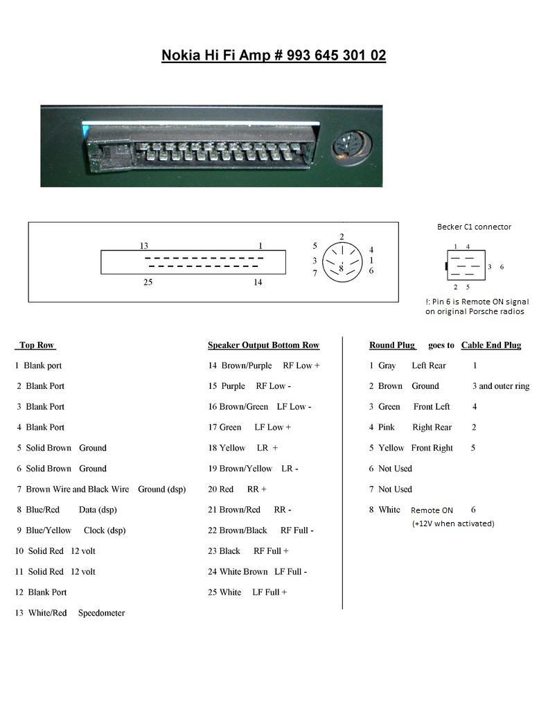 medium resolution of  porsche 977515d1443576397 installing the continental tr7412ub or radio 993 nokia amp wiring installing the continental tr7412ub or