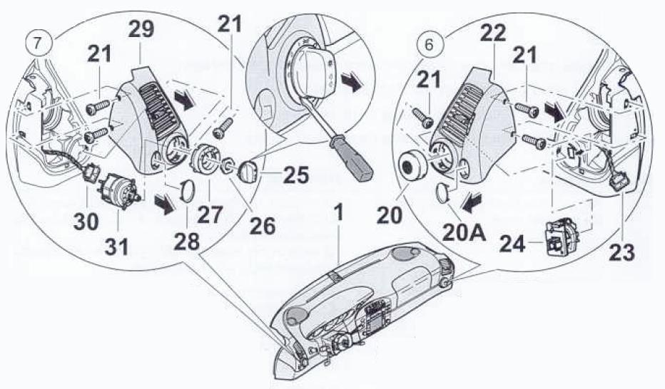 Porsche Boxster Headlight Switch Location