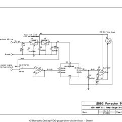Vdo Voltmeter Gauge Wiring Diagram Main Electrical Panel Temperature - Somurich.com