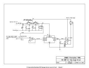 Oil temp gauge using the builtin oil temp sensor