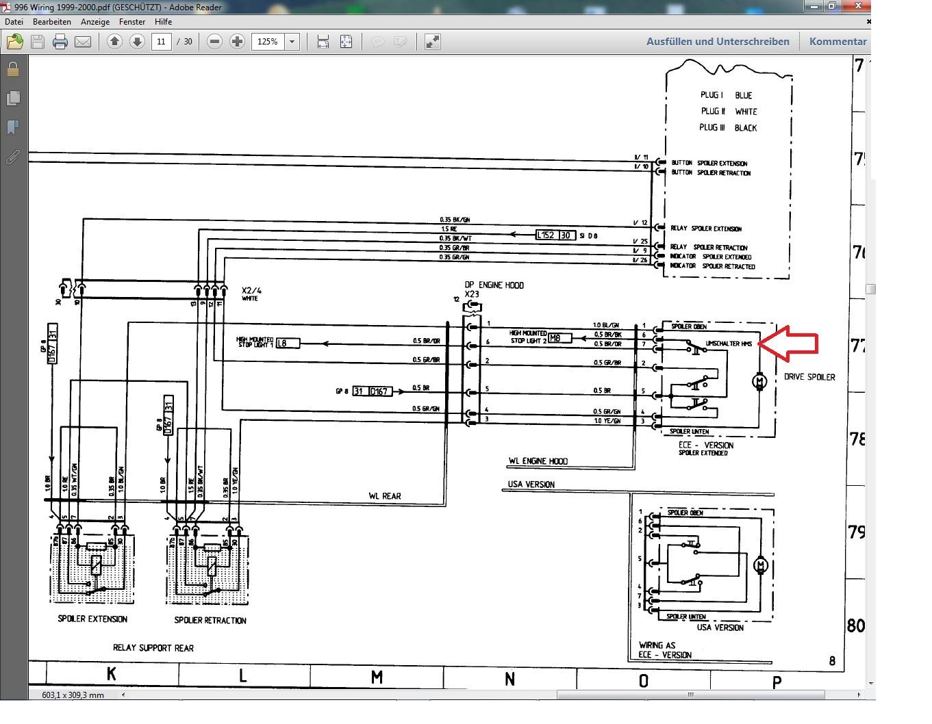 [WRG-9599] 2006 Porsche Cayenne Wiring Diagram