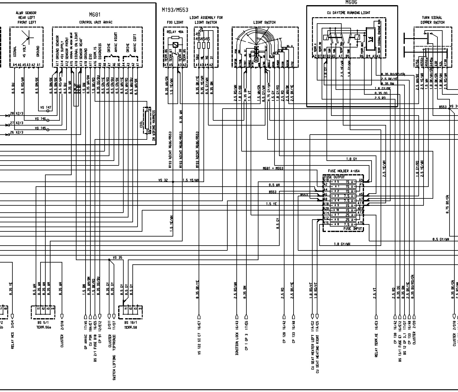 porsche 911 turbo wiring diagram john deere 250 skid steer 996 26 images