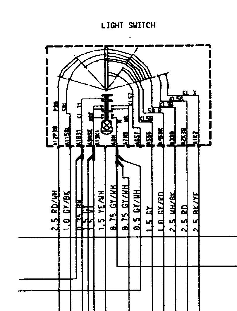 hight resolution of headlight switch plug wiring please help rennlist porsche basic headlight wiring diagram 996 wiring diagrams 1999 headlight
