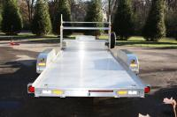 Loaded 17' x 8' All-Aluminum Open Car Hauler Trailer with ...