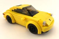 Custom LEGO Porsches (not sets), mostly 911's