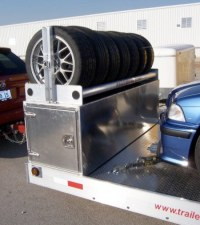 Photos of Trailer Tire Racks Please - Rennlist Discussion ...