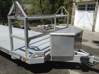 FS: 2010 Aluma open trailer with tire rack - Rennlist ...