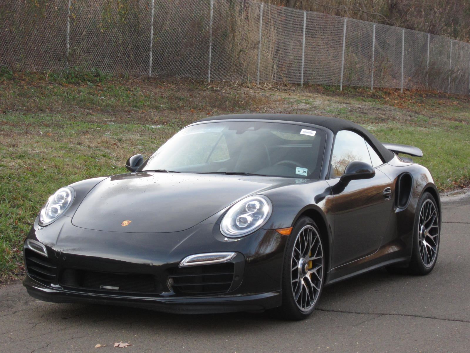 Dealer Inventory Porsche 911 Turbo S Cab