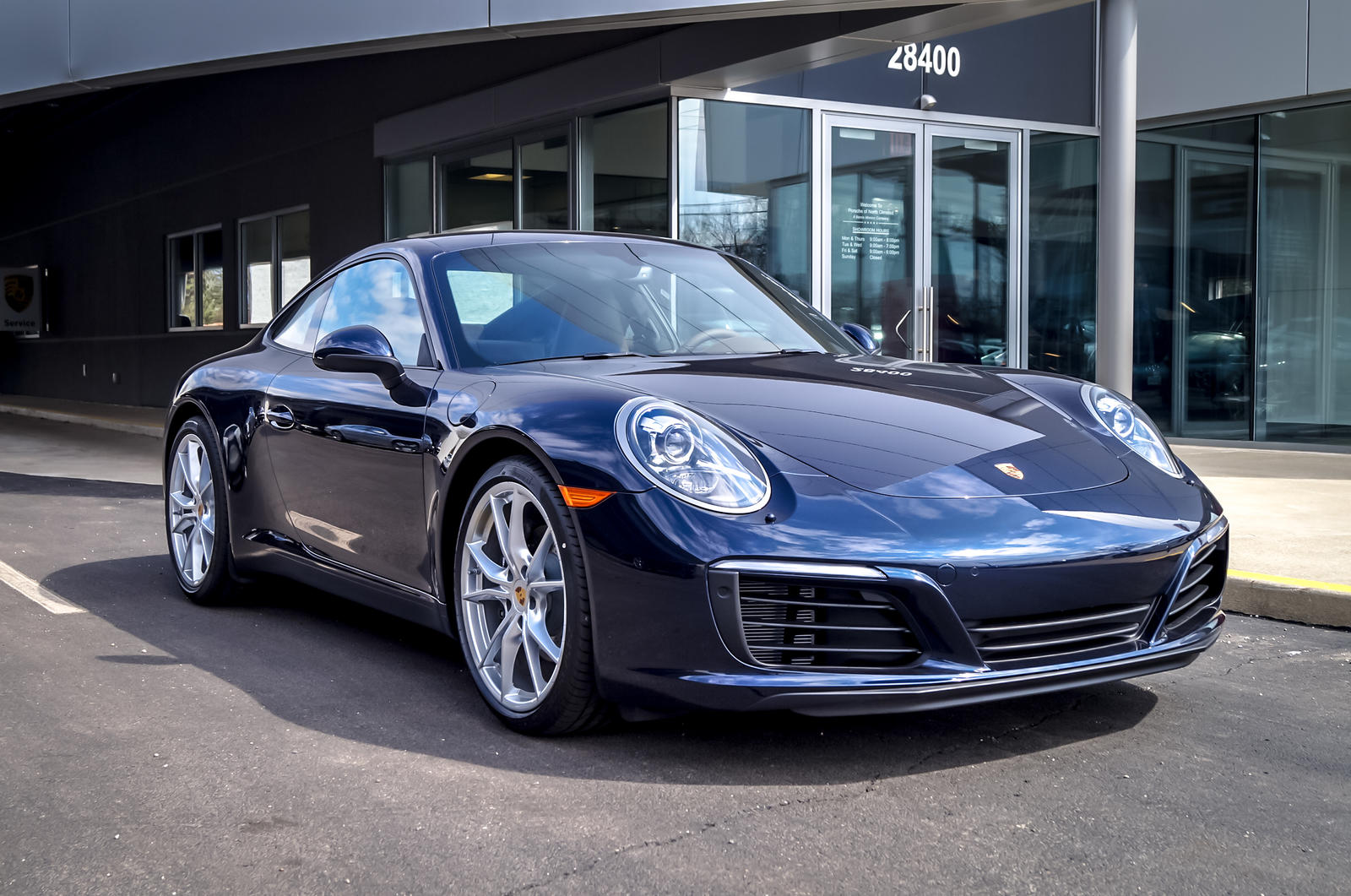Dealer Inventory 911 Carrera Night Blue On Saddle