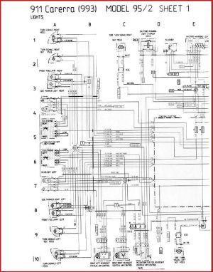 993 C4 1995 Wiring diagram  hazards!  Rennlist  Porsche Discussion Forums