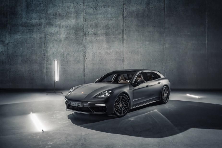 Porsche Panamera Sport Turismo Front End