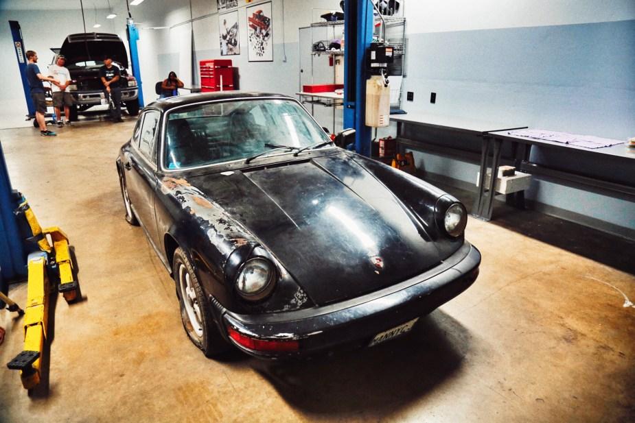 #ProjectStork in the Haynes Manuals Garage