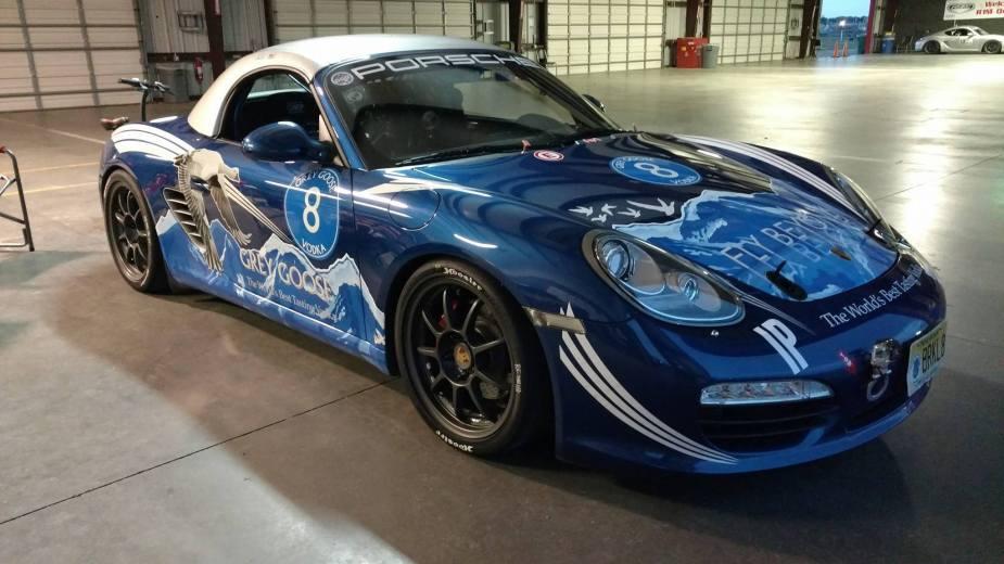 Porsche Cayman Paul Solk