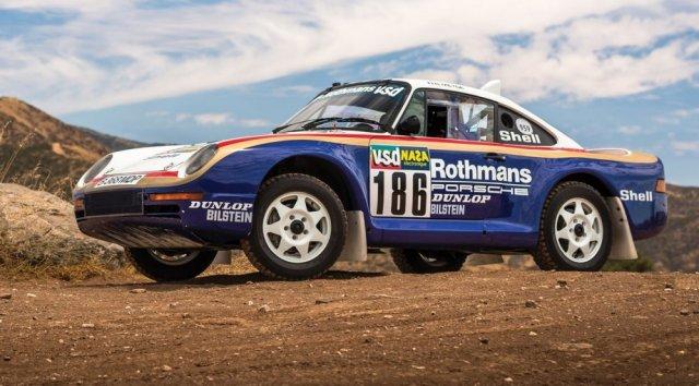 1985 Porche 959 Rally Car Front Corner