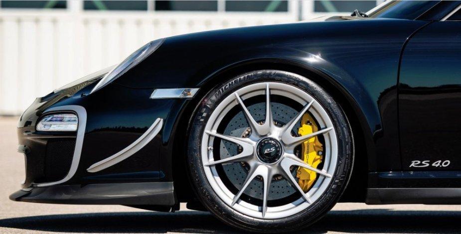 Seinfeld's Porsche 911 GT3 RS 4.0 Wheel