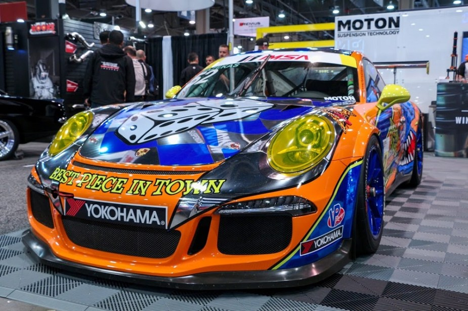 Moton Suspension Porsche 911 GT3 Cup SEMA 2018