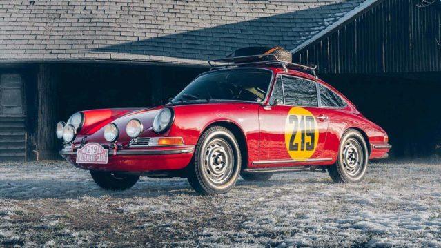 1967 Porsche 911 Monte Carlo Rally Tribute