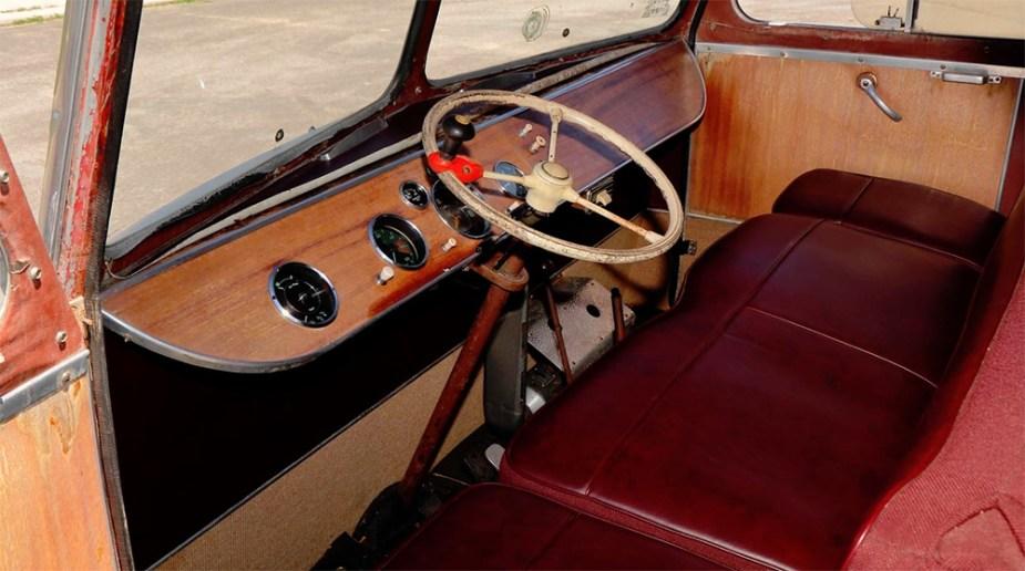 Porsche Camper Cockpit