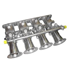 vw polo 6n 6n2 lupo gti 1 4 1 6 16v individual throttle body kit itbs rennsport factory [ 1100 x 1100 Pixel ]