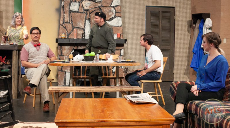 Backstage Review: 'The Foreigner' at Reno Little Theater