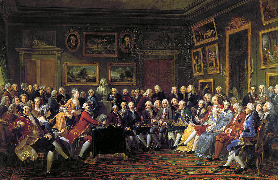 The history of salons  Reno Art Salon