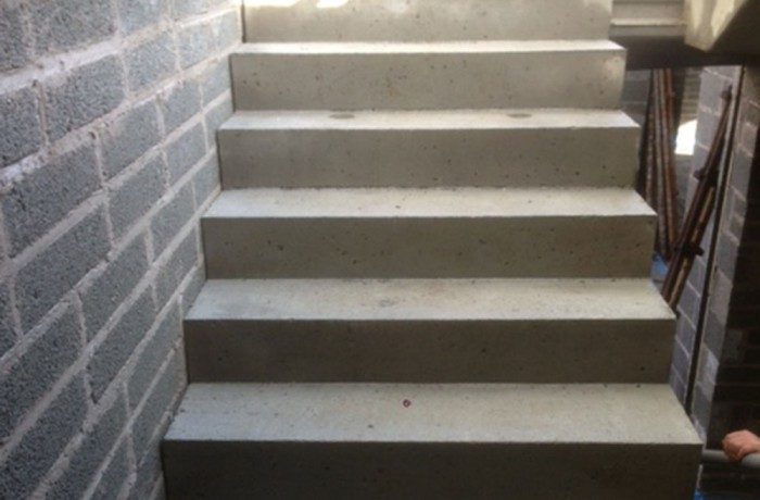 Epoxy Concrete Stairs