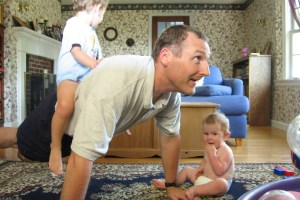 Exercising With Kids