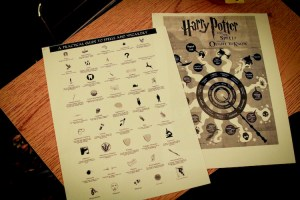 harry potter wizard spells