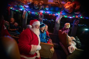 All Aboard!...The Polar Express on the V&T Railway