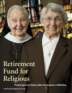 retired funds for religious