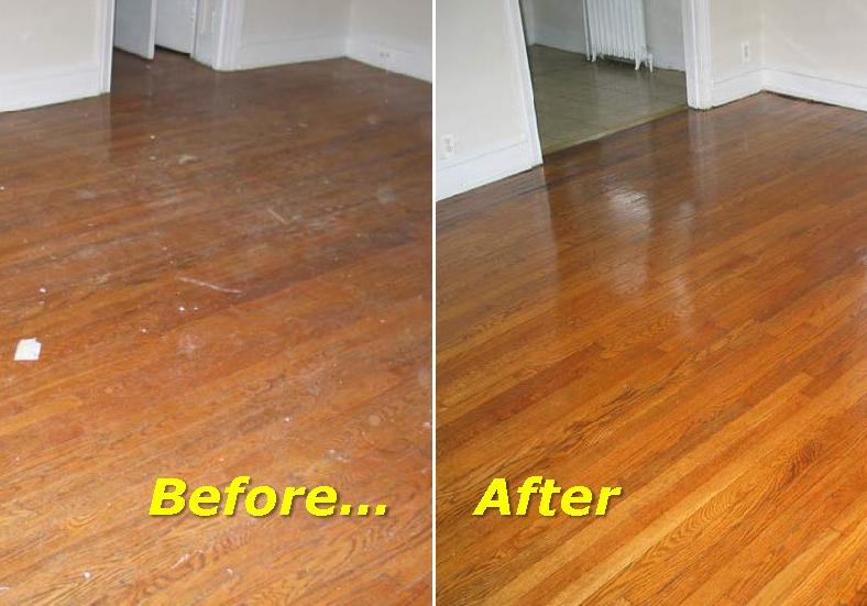 Refinish Worn Hardwood Floors  RenoTahoeNevada
