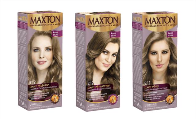 Lançamento: Tintura de Cabelo Maxton Free | Maxton Irisadas Embelleze