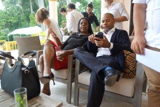 Clarisa Crive (Galeria Habana) & Rosmy