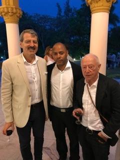 Jean-Marie Bruno (Ambassadeur de France à Cuba), Rosmy & Maurice renoma