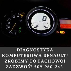 diagnostyka komputerowa Renault Warszawa
