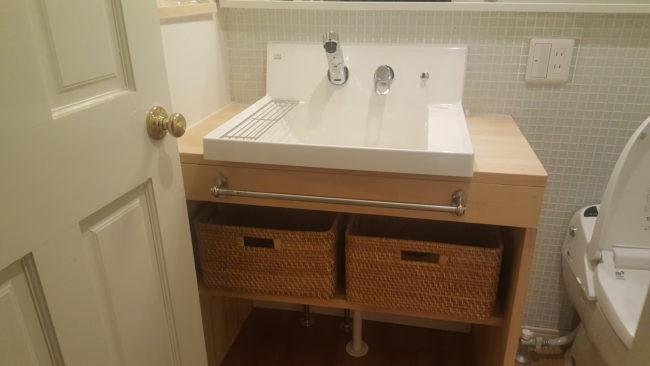 DIY 洗面台 ピアラ 改造