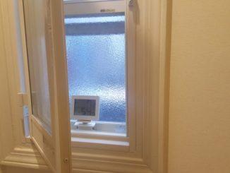 内窓の外側の温度