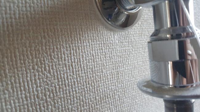 壁紙の隙間 コーク補修後
