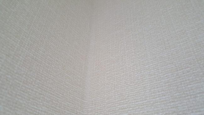 壁紙の隙間 補修後