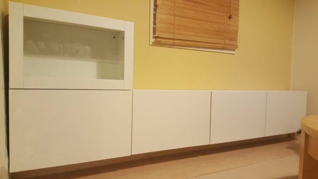 IKEA ベストー DIYで取り付け