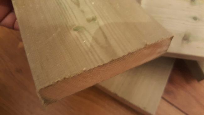 加圧注入材 木材
