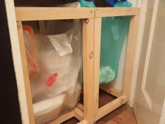 DIY ゴミ箱 作り