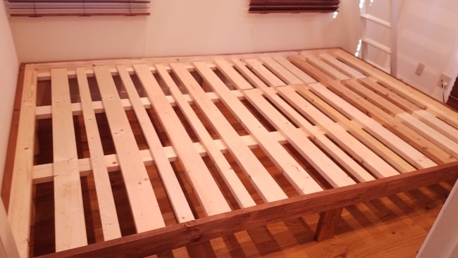 大きなベッド作り方 DIY