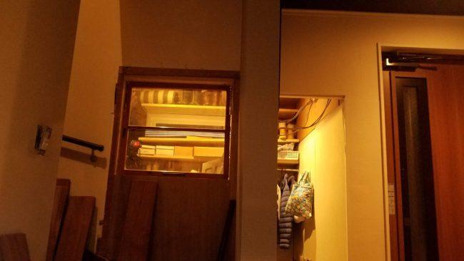 壁に木材を貼る編 ビフォー